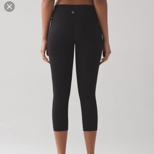 Lululemon athletica wunder under crop hi rise / 2